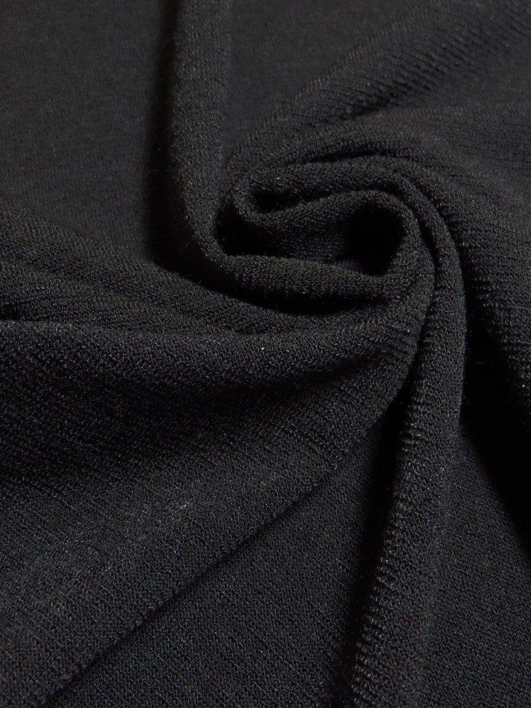 Black Scuba Knit