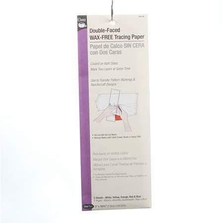 Double Face Tracing Paper Asst Colors