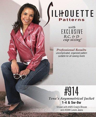 Tena's Asymmetrical Jacket