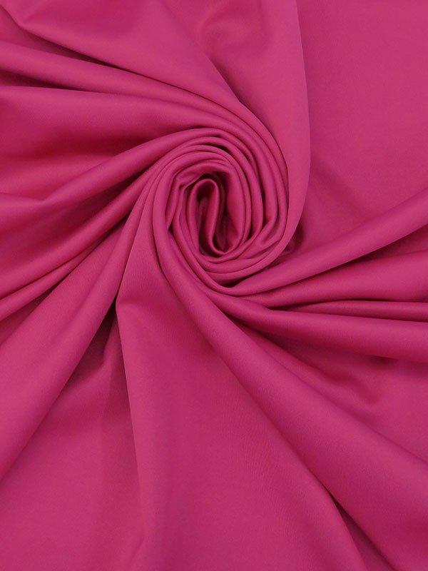 Raspberry Polyester/Lycra Scuba Knit
