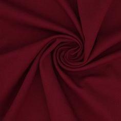 Wine Red Polyester/Lycra Ponte Knit
