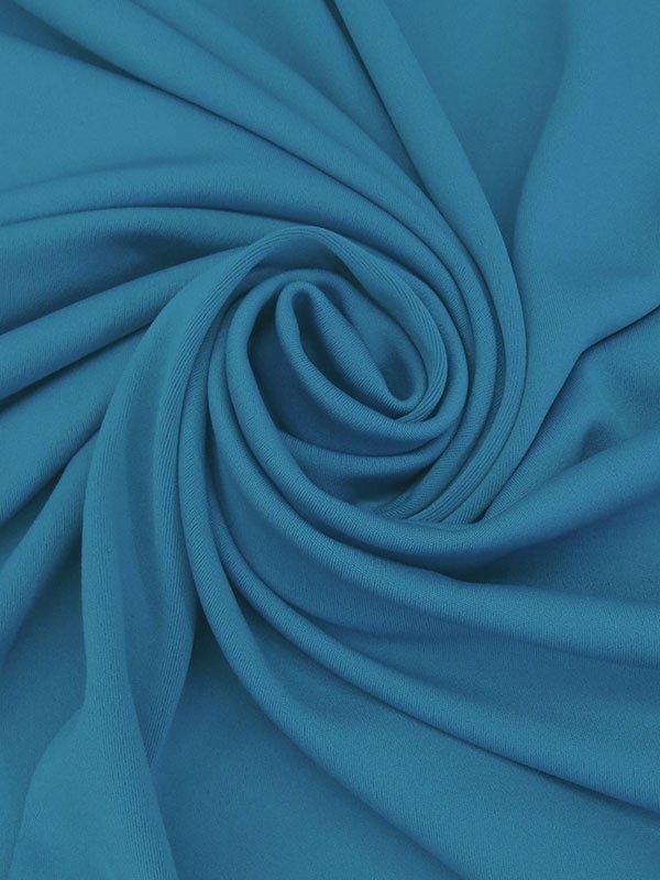 Cyan Celadon Blue Poly/Lycra Scuba Knit