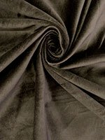Black/Pearly Ivory Poly/Lycra Abstract Streaks Stretch Satin