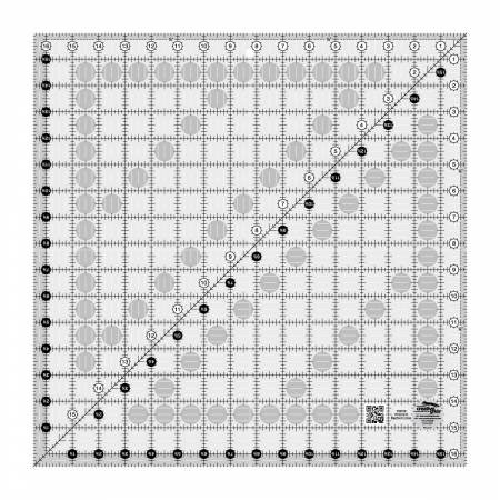 Creative Grids Quilt Ruler 16-1/2in Square