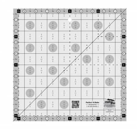 Non-Slip Perfect 10 Ruler