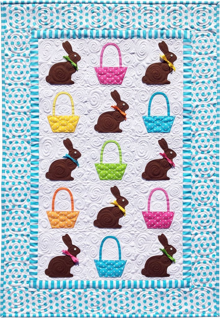 Chocolate Bunnies Quilt