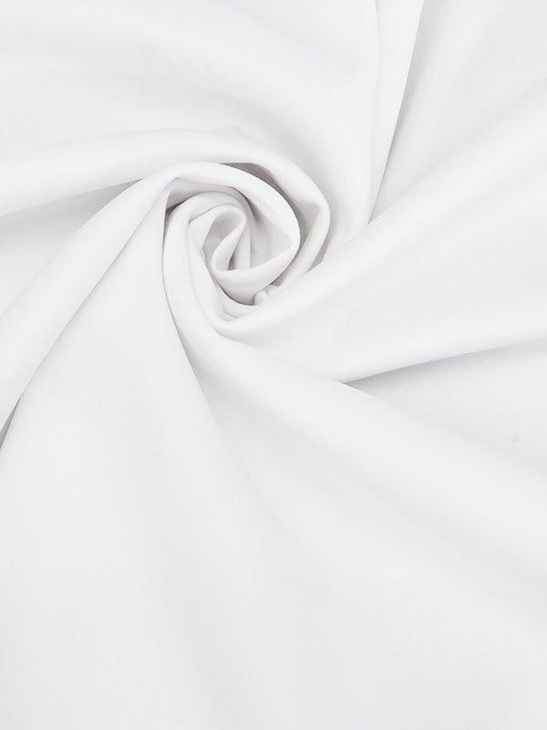 Frost White Poly/Lycra Scuba Knit