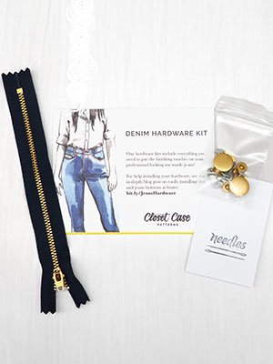 Closet Case Denim Hardware Kit