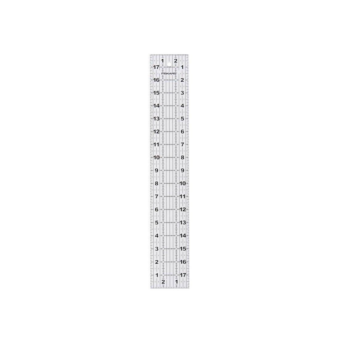 Fiskars Acrylic Ruler 3 x 18 inch