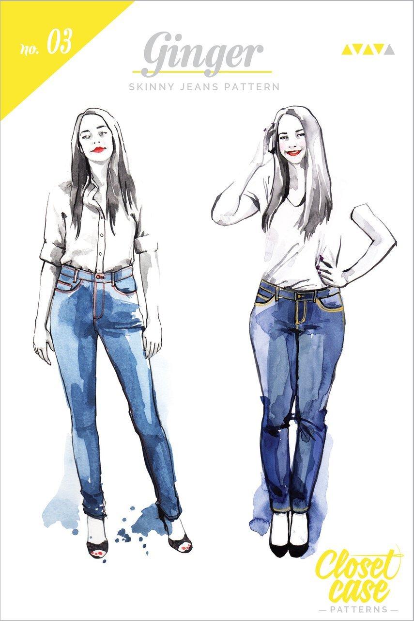 Ginger Skinny Jean