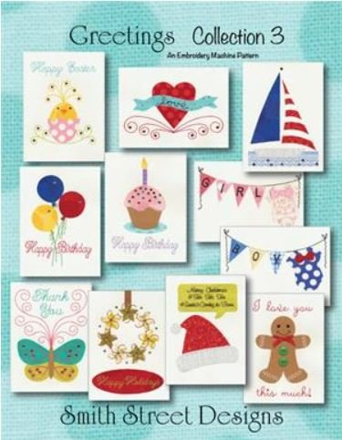 Embroidery club greeting cards m4hsunfo