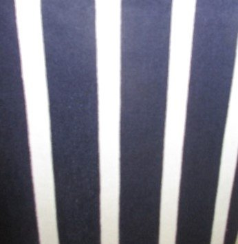 Navy/White Uneven Stripe