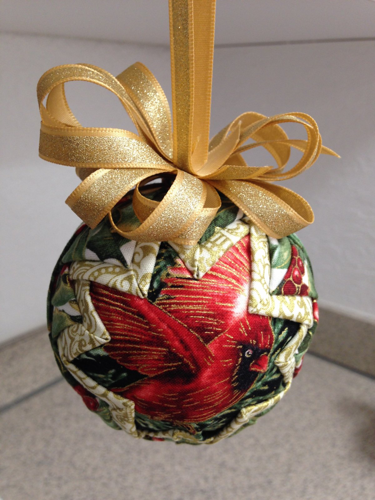 No-Sew Holiday Ornament