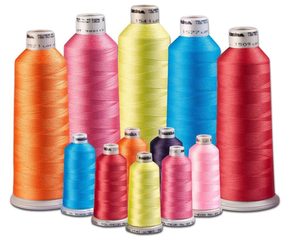 Madeira  Serger Thread  Assorted colors