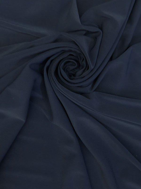 Midnight Navy Blue Poly/ Lycra ITY
