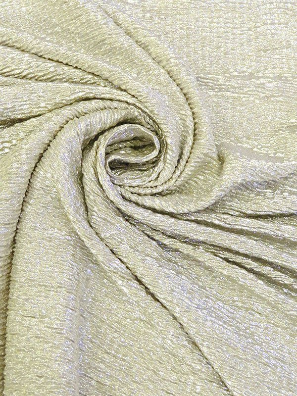 Crinkle Metalliic Knit