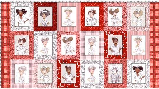 Nifty Nurses Fabric Panel
