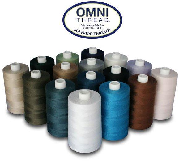 Omni Thread assorted colors  6000 yds