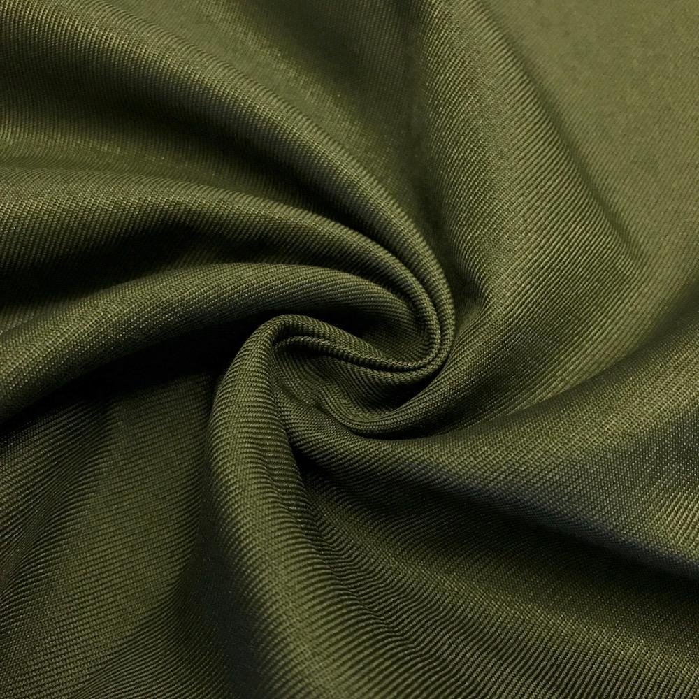Polyester Twill -Olive