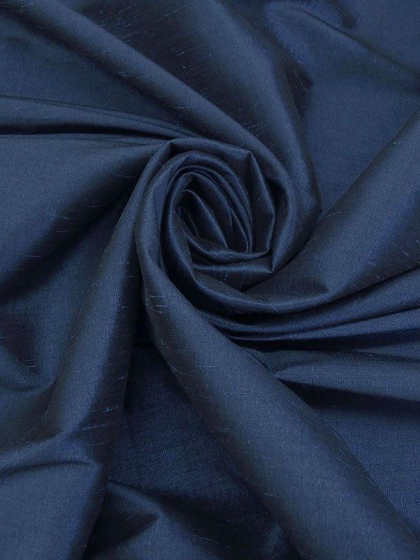 Imperial Blue Shantung Stretch