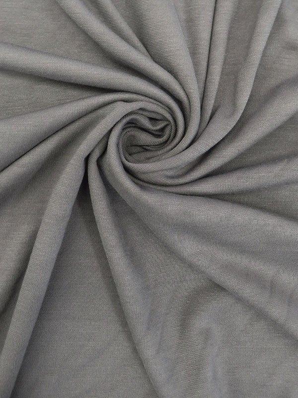 Fossil Gray Rayon/Nylon/Lycra Ponte Knit