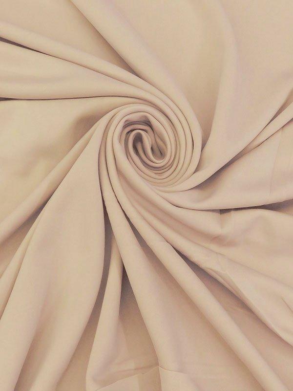 Khaki Poly/Lycra Scuba Knit