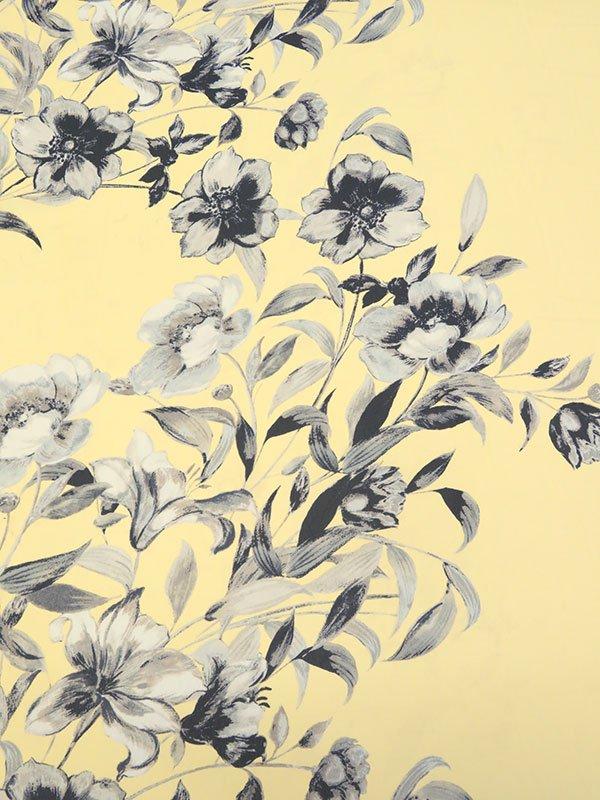 Buttercup Floral Chiffon