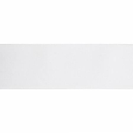 2 inch waistband elastic, white