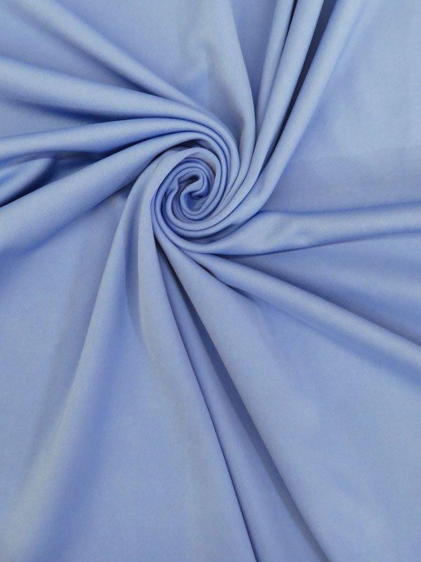 Periwinkle Blue Poly/Lyrca Scuba Knit
