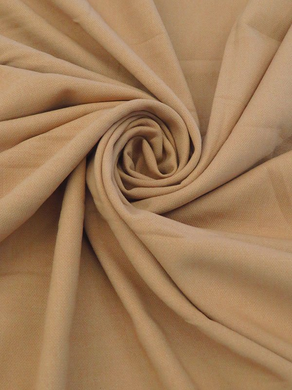 Pecan Tan Poly Twill Suiting