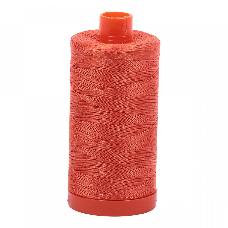 Aurifil 1154 - Mako Cotton Thread Solid 50wt 1422yds Dusty Orange