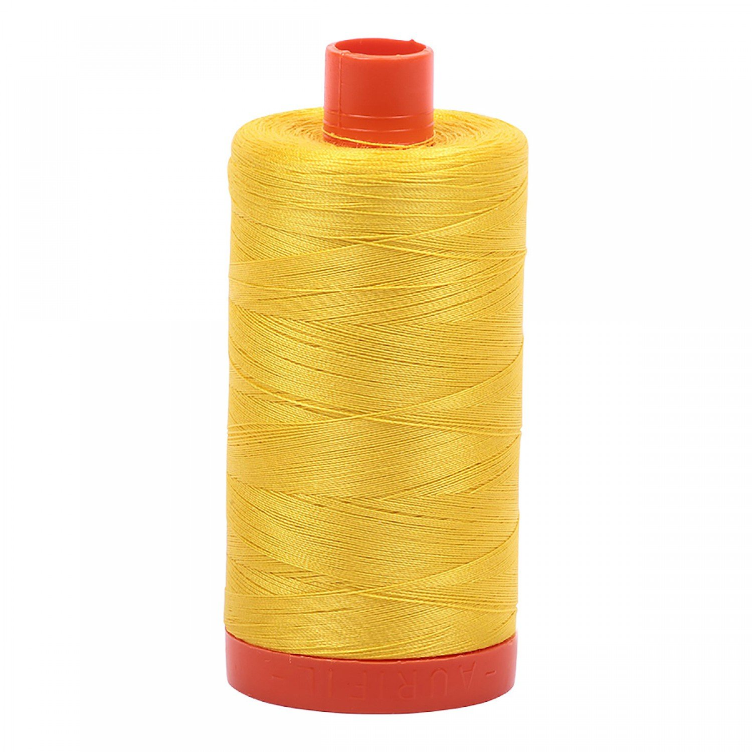 Aurifil 2120 - Mako Cotton Thread Solid 50wt 1422yds Canary