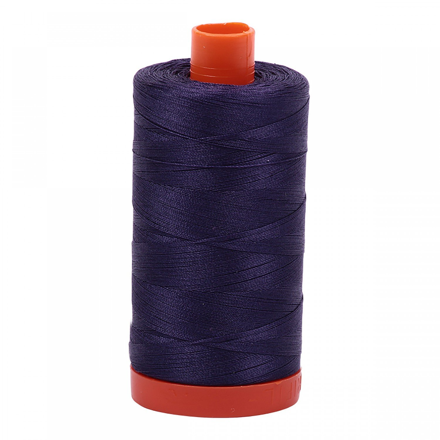 Aurifil 2581 - Mako Cotton Thread Solid 50wt 1422yds Dark Dusty Grape
