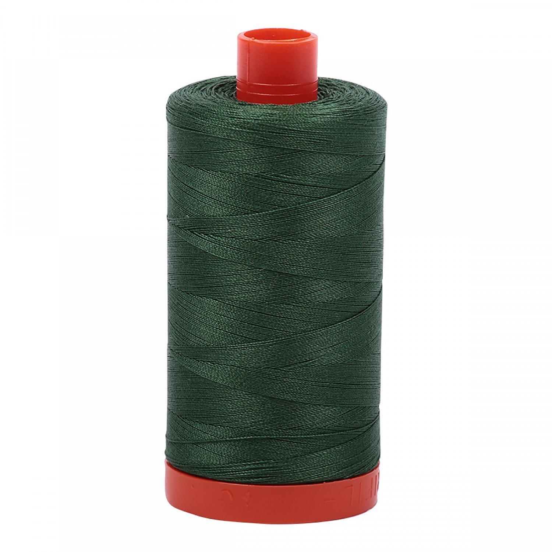 Aurifil 2892 - Mako Cotton Thread Solid 50wt 1422yds Pine