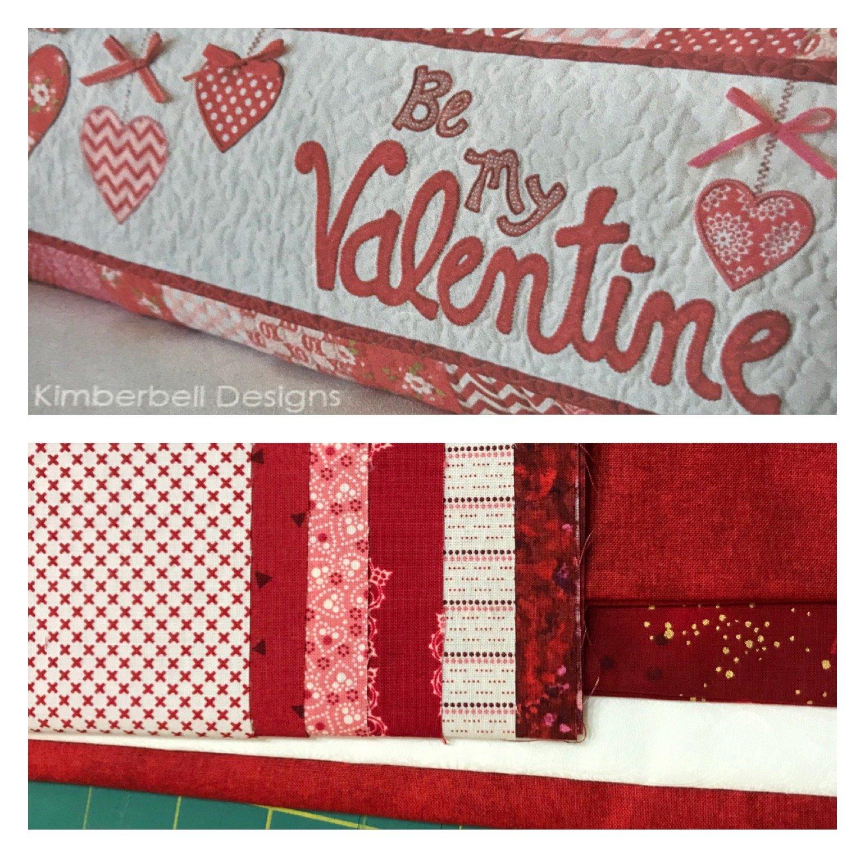 Kimberbell Valentine Bench Pillow Kit