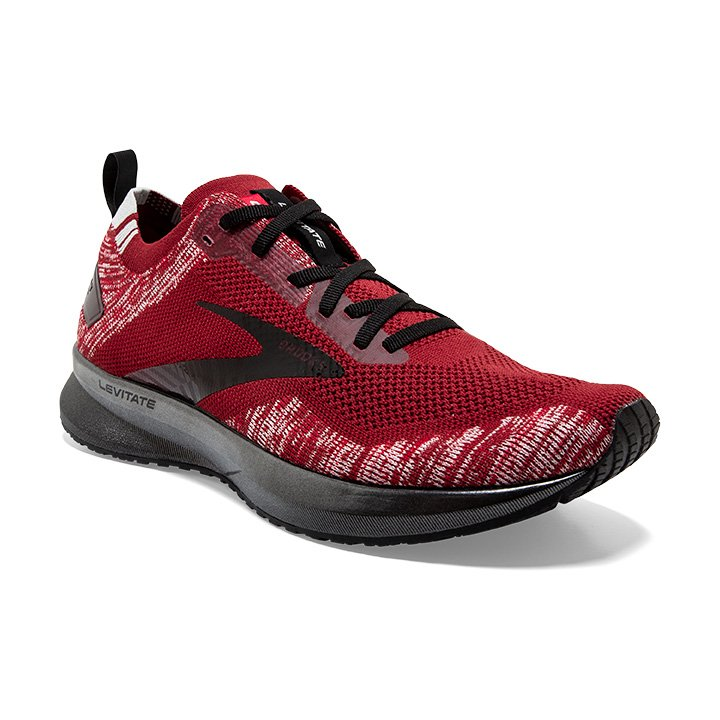 Men's Levitate 4 - Red/Grey/Black (602)