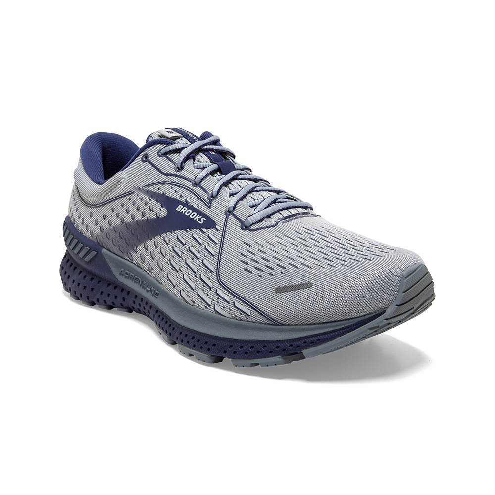 Men's Adrenaline GTS 21 - Grey/Tradewinds/Deep Cobalt