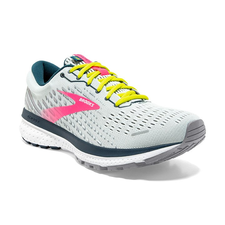 Women's Ghost 13 - Ice Flow/Pink/Pond (154)
