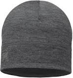Lightweight Merino Wool Hat- Grey