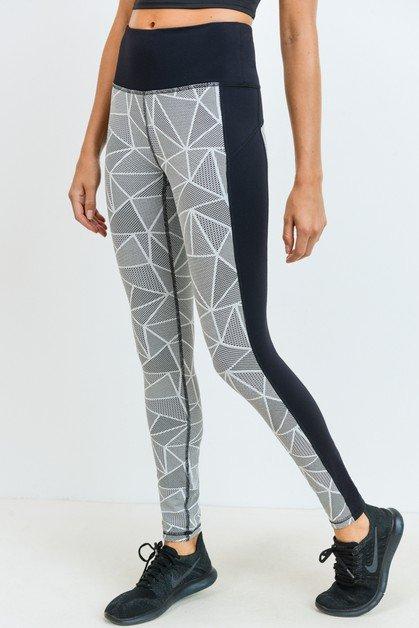 Jacquard Mosaic Leggings