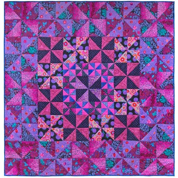 Kaffe Fassett's Fruit of The Forest quilt kit | Quilts in Burrano Book