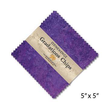 Gradations Chips ~ Amethyst