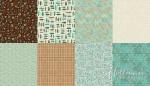 All a Twitter ~ Fat Quarter Panels: Sprout Coordinates