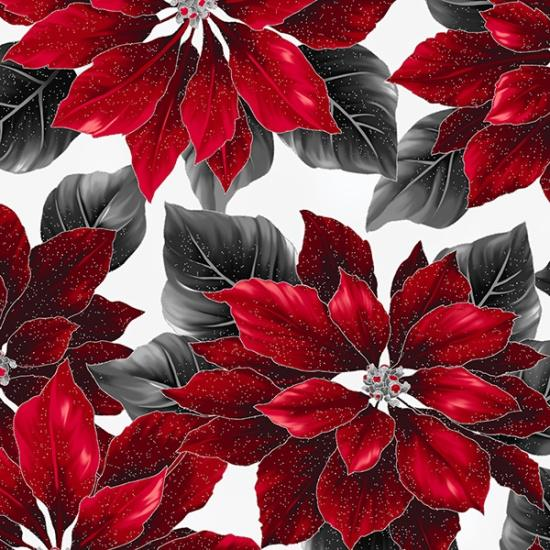 Poised Poinsettia by Hoffman