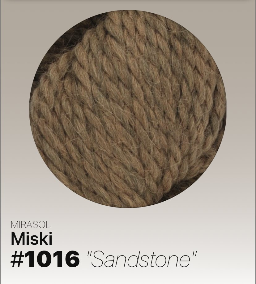Miski #1016 Sandstone
