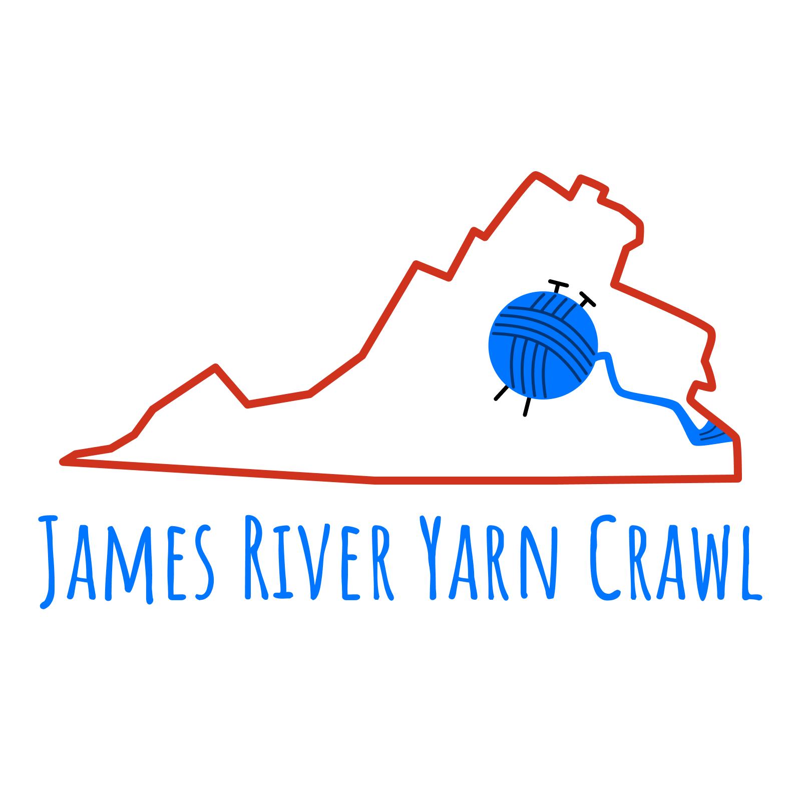 james river yarn crawl