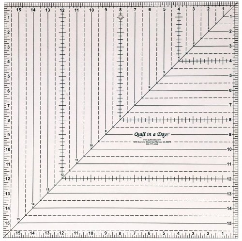 16 SQUARE-UP RULER
