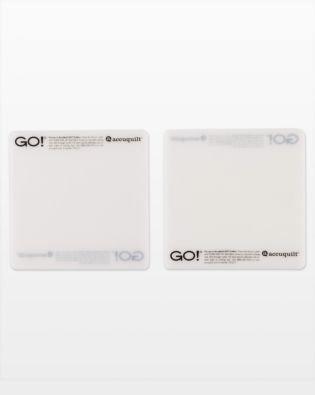 Accuquilt GO! Cutting Mat 6 x 6 2 Pack