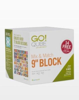Accuquilt GO! Qube Mix & Match 9 Block
