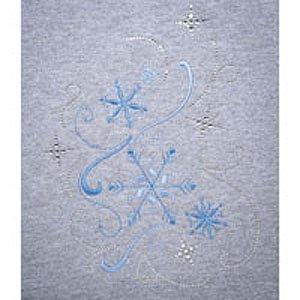 Swirling Snowflakes BLING